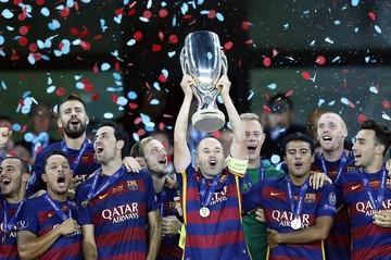 El Barcelona conquista su quinta Supercopa de Europa