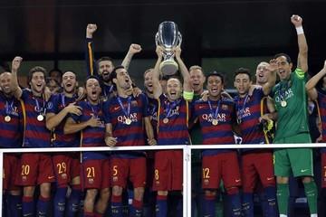 Barcelona gana la Supercopa