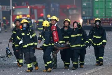 Al menos 17 muertos por explosiones de productos inflamables en China