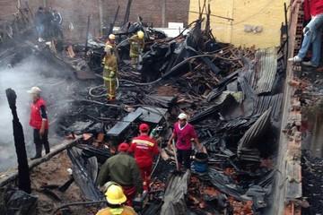 Cuatro carpinterías de reos se quemaron en Palmasola