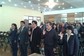 Cinco nuevos directores distritales son posesionados en Chuquisaca