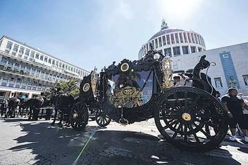 Polémica en Italia por el funeral de mafioso