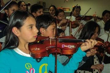 Escuela Suzuki, el gusto por la música