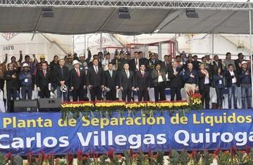 Gobierno inaugura la Planta de Gran Chaco, una de las más grandes de Sudamérica