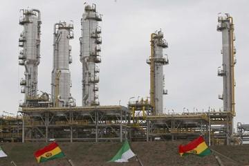 Planta separadora de líquidos de Bolivia comienza a operar