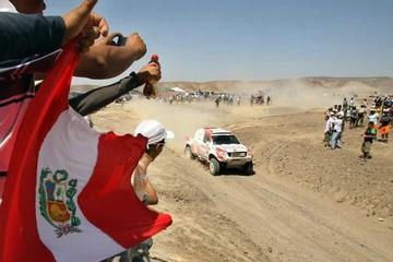Perú se retira de  la ruta del Dakar por emergencia