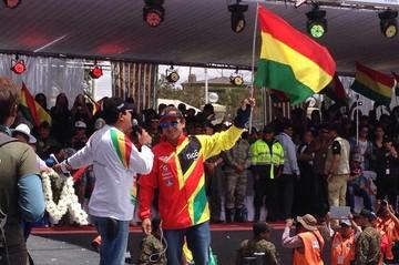 Rally Dakar se correrá sólo en Bolivia y Argentina, según Machicao