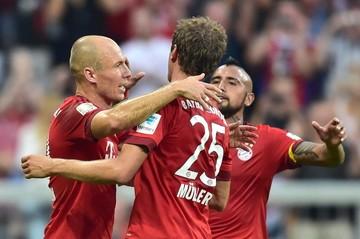 El Bayern golea al Leverkusen y asume provisionalmente el liderato