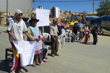 Una ola de robos en Sucre levanta protesta de vecinos
