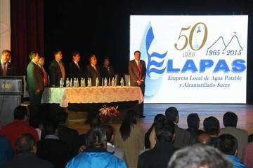Elapas celebra 50 años y se plantea ejecutar el Sucre III