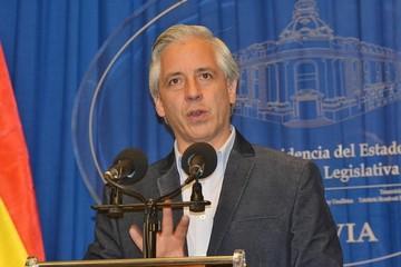 """García Linera dice que el veto a su presencia en Chile es """"un error político"""""""