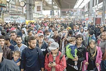 Alemania, Francia y España acogerán al 60% de asilados
