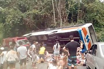 Brasil: 14 personas mueren tras accidente