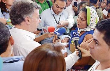 Santos acepta mediación uruguaya con Venezuela
