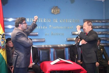 Juramentan los nuevos viceministros de Régimen Interior y Seguridad Ciudadana