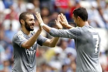 Cristiano Ronaldo aplica una goleada a Espanyol