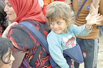 Poner a salvo a sus hijos, el principal deseo de los sirios