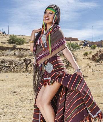 Textiles, joyas de Bolivia