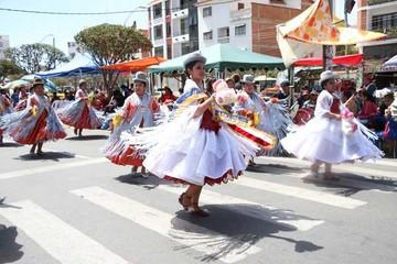 Guadalupe 2015  muestra la riqueza del folclore nacional
