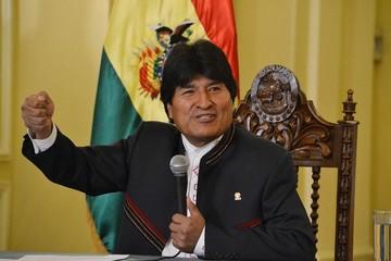 """Evo Morales rechaza """"rotundamente"""" informe antinarcótico de EEUU"""