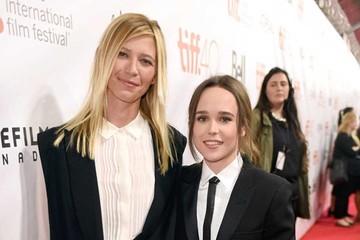 """Ellen Page camina por la alfombra roja de """"Freeheld"""" acompañada  de su novia"""