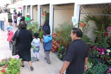 Inauguran el mercado de Las Flores con feria