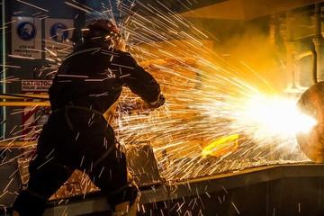 En marcha producción de estaño metálico de Vinto