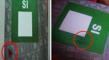 La Paz: Marcas en papeletas causan susceptibilidad