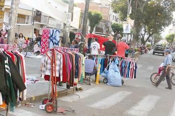 Calles y gente en un día atípico