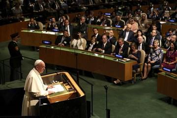 """ONU: El Papa pide la """"total prohibición"""" de las armas nucleares"""