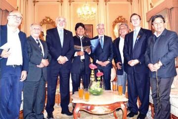 Chile rechaza llamado de Evo para dialogar sobre diferendo marítimo