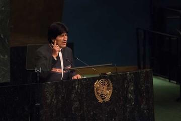 Morales: En Chile todo está privatizado, hasta el mar