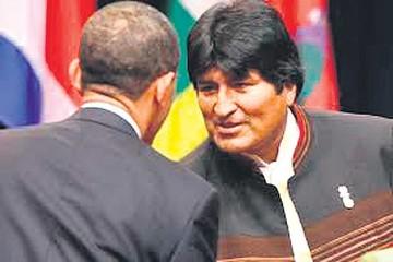 EEUU rechazó reunión entre Evo y Obama
