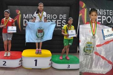 Chuquisaca logra sus primeras medallas