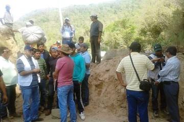 Monteagudo: Se abre posibilidad  de solución, pero sigue el bloqueo