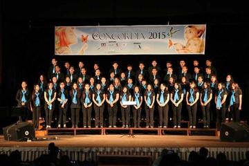 Culmina con mucho éxito festival de coros Concordia