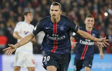 Zlatan, el máximo goleador de la historia del PSG