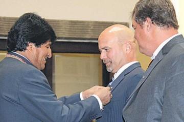 Evo: Es deseable, pero no decisivo embajador de EEUU en Bolivia