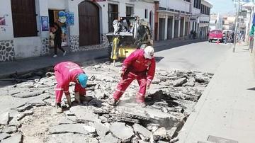 Preparan calles del centro para el recapado asfáltico
