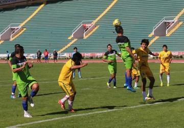 """FÚTBOL La """"U"""" y Fancesa igualan 2-2 en el segundo amistoso jugado en la semana"""