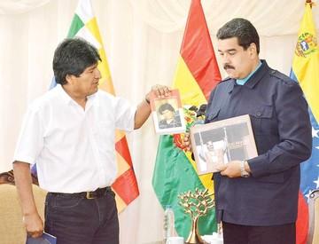 Morales y Maduro plantean plan de desarrollo conjunto