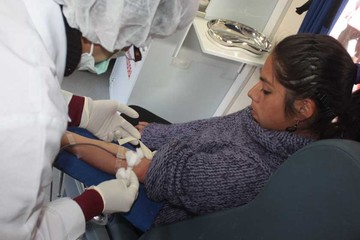 Chagas afecta al 10% de los donantes de sangre