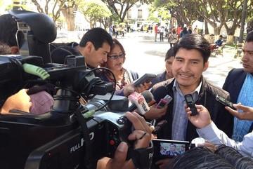 """Condori llama a Comcipo a unir fuerzas por el """"No"""" a la reelección de Evo Morales"""