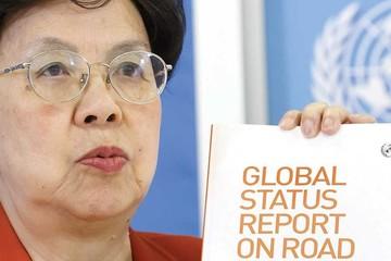 Según la OMS, las muertes en carretera siguen siendo altas