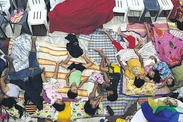 Aumentan las víctimas por tifón Koppu en Filipinas