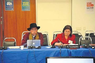 Cusi denuncia acoso del Gobierno ante la CIDH