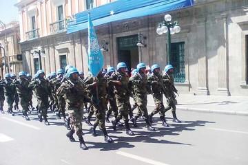 ONU celebra sus 70 años en Bolivia con caminata