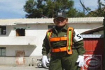 Sucre: Una policía queda  herida al salvar a un niño