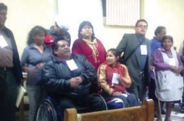 Discapacitados buscan fortalecer el CODEPEDIS