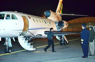 Morales llega a Berlín en su gira por Europa en busca de inversiones